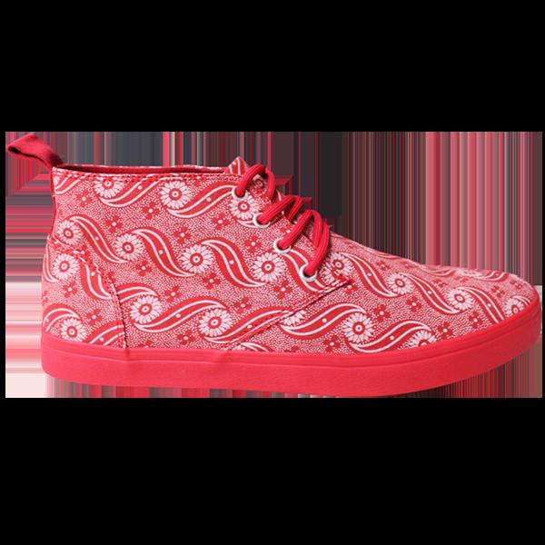 Pink and Red Tribal Veldskoen