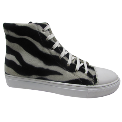 Zebra Hightops