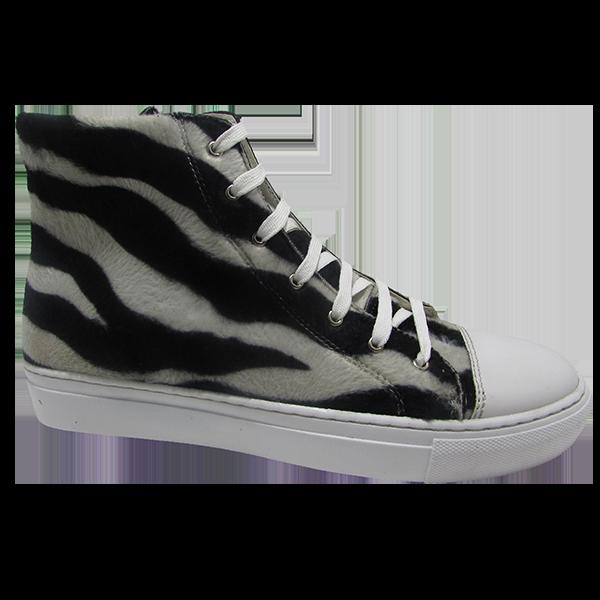Zebra Hightops
