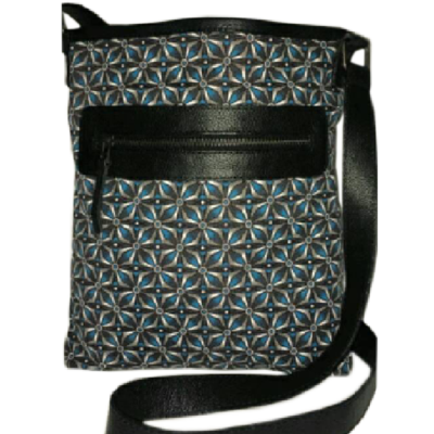 Blue Shweshwe Sling bag