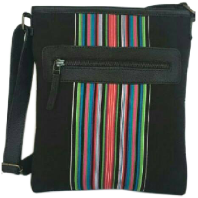 Venda stripes sling bag