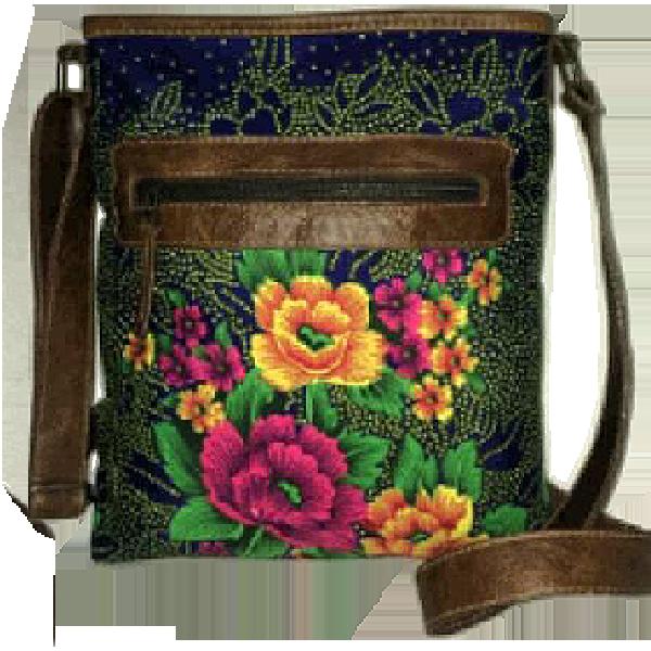 Tsonga floral sling bag