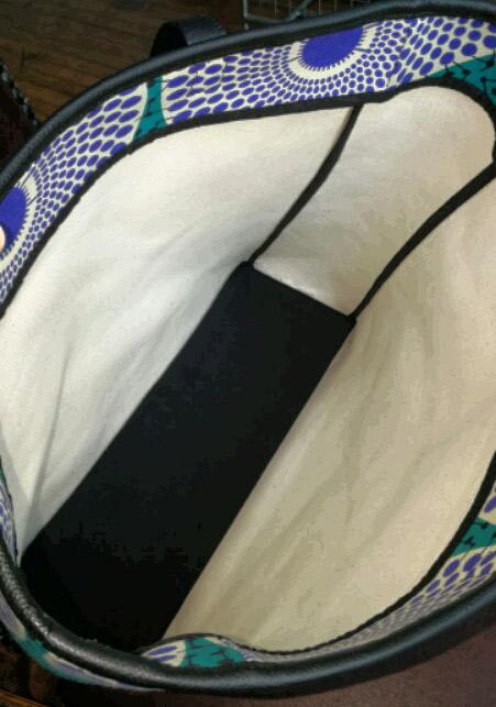 Waxprint holdall